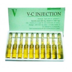 Vitamine C Injections Vit C + Eclaircissant-Blanchissant Anti-âges.