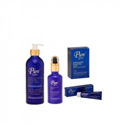 Pack, Pure Glow: Maximum Strenght Whitening Beauty Milk, Soins Corporel Complèts, Anti-taches.