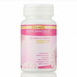 Gluta Nano Plus 9000.000MG Whitening Softgel Pills Anti-âges & Anti-taches.