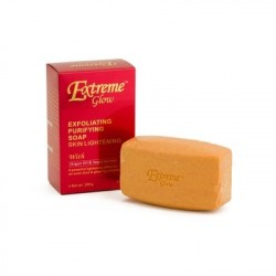 Extreme Glow Strong Lightening Savon Vitaminées Purifiant Exfoliant, Anti-taches & Âges.