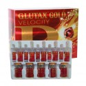 Glutax 300GS Gold Velocity: Synchronized Cellular Whitening Glutathion Injection.
