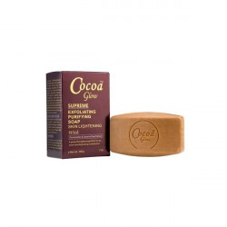 Cocao Glow Suprême Exfoliating: Purifying Soap Ultra Lightening.